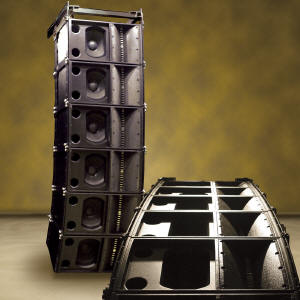 SR-A Series Mid-Size Line Array Speakers